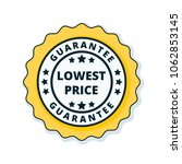 lower price guarantee label... | Shutterstock .eps vector #1062853145