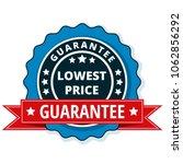 lower price guarantee label... | Shutterstock .eps vector #1062856292
