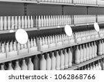 blank products on supermarket... | Shutterstock . vector #1062868766