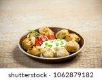 eastern europe style fried... | Shutterstock . vector #1062879182