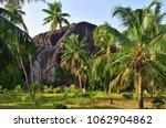 seychelles natural wonder form... | Shutterstock . vector #1062904862