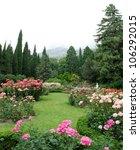 Stock photo rose garden 106292015