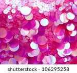 Pink Sequins Pattern Texture...