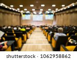 blurred audience view  people... | Shutterstock . vector #1062958862