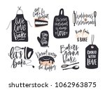 collection of elegant lettering ... | Shutterstock .eps vector #1062963875