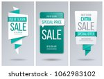 sale banner template. special... | Shutterstock .eps vector #1062983102