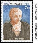 monaco  monaco   may 4  1981 ... | Shutterstock . vector #1062989198