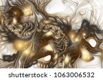 abstract intricate swirly... | Shutterstock . vector #1063006532