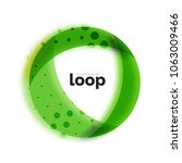 loop circle business icon ... | Shutterstock .eps vector #1063009466
