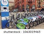 new york  new york  october 07  ...   Shutterstock . vector #1063019465
