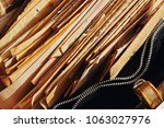 old correspondence and... | Shutterstock . vector #1063027976