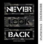 tee print vector design with... | Shutterstock .eps vector #1063066088