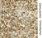 seamless golden texture of... | Shutterstock .eps vector #1063073402