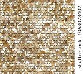 seamless golden texture of... | Shutterstock .eps vector #1063073402