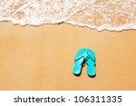 Flip Flops On A Sandy Ocean...