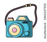 photographic camera design | Shutterstock .eps vector #1063147532