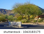 paradise valley  az  23 feb... | Shutterstock . vector #1063183175