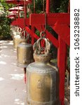 bells at wat phan tao in chiang ... | Shutterstock . vector #1063238882