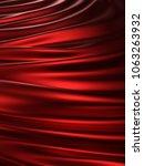 smooth elegant silk or satin.... | Shutterstock . vector #1063263932