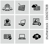 education technology related... | Shutterstock .eps vector #106327838