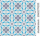 vector seamless pattern  based... | Shutterstock .eps vector #1063279235