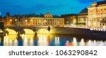 stockholm  sweden. illuminated...   Shutterstock . vector #1063290842