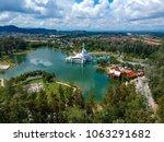 aerial view of terengganu... | Shutterstock . vector #1063291682