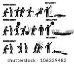 icon man fatality 1 di 3 | Shutterstock .eps vector #106329482
