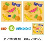 find differences logic... | Shutterstock .eps vector #1063298402