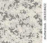 digital camouflage pattern ... | Shutterstock .eps vector #1063318622