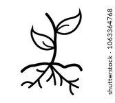 plant icon vector | Shutterstock .eps vector #1063364768