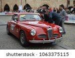 alfa romeo 1900 1952  1000... | Shutterstock . vector #1063375115