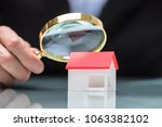close up of a businessperson's... | Shutterstock . vector #1063382102
