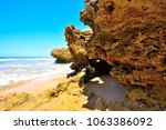 torquay is promoted as the... | Shutterstock . vector #1063386092
