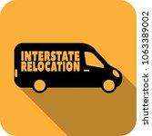 vector interstate relocation... | Shutterstock .eps vector #1063389002