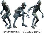 mutant  dwellers 3d illustration | Shutterstock . vector #1063391042