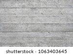 board formed bare concrete... | Shutterstock . vector #1063403645