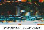 unique design abstract digital... | Shutterstock . vector #1063429325