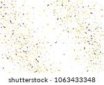 festive color strip confetti... | Shutterstock .eps vector #1063433348