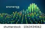 abstract futuristic data...   Shutterstock .eps vector #1063434062