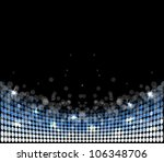 abstract disco light stars...