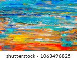 abstract art background hand... | Shutterstock . vector #1063496825