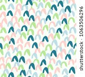 hand drawn seamless pattern.... | Shutterstock .eps vector #1063506296