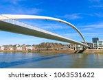 hoge brug in maastricht ... | Shutterstock . vector #1063531622
