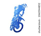 freestyle motocross  fmx.... | Shutterstock .eps vector #1063544852