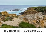 Rocky Eroded Cliffs Near A...
