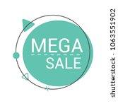 special sale banner  discount... | Shutterstock .eps vector #1063551902
