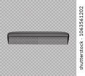 comb vector realistic. | Shutterstock .eps vector #1063561202