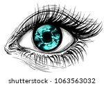 isolated vector illustration of ... | Shutterstock .eps vector #1063563032