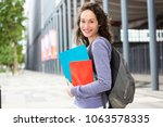 view of a portrait of a young... | Shutterstock . vector #1063578335